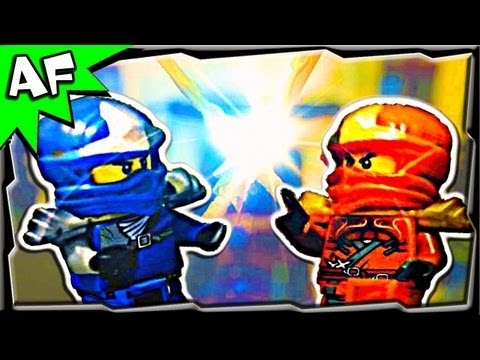 Lego Ninjago KAI vs JAY - EPIC SPINJITZU BATTLE