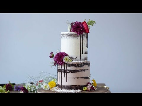 Cover Your Cake in Fresh Flowers - YouTube