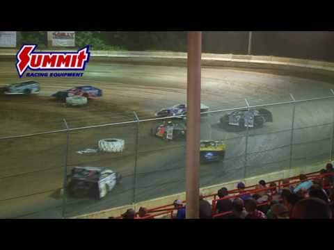 Summit Racing Equipment Modified Nationals Highland Speedway July 8, 2017 | HIGHLIGHTS