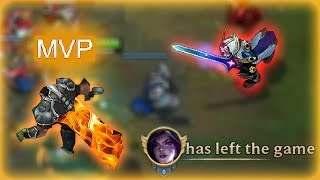 Download Video Sunfire first item darius 4v5 HARD CARRY (kai'sa dced for 5 minutes ~diamond elo) MP3 3GP MP4