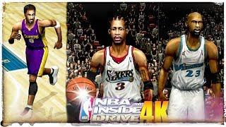 NBA Inside Drive 2002 in 2018 4K!!! All-Star Game Frobe Battles T-Mac & Vince Carter