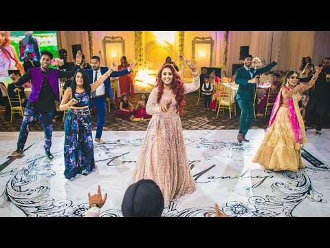 Epic Surprise Dance For Bride And Groom (Indian Wedding)