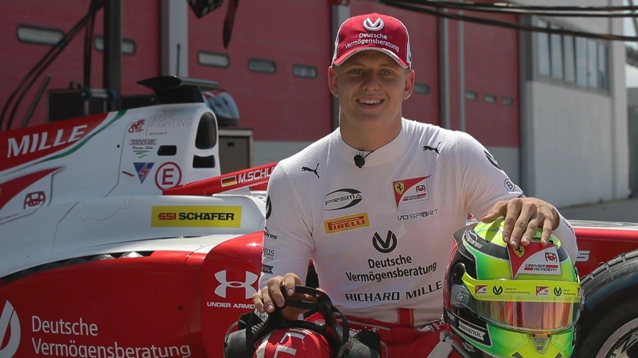 Mick Schumacher Explains His 2019 Racing Helmet Youtube