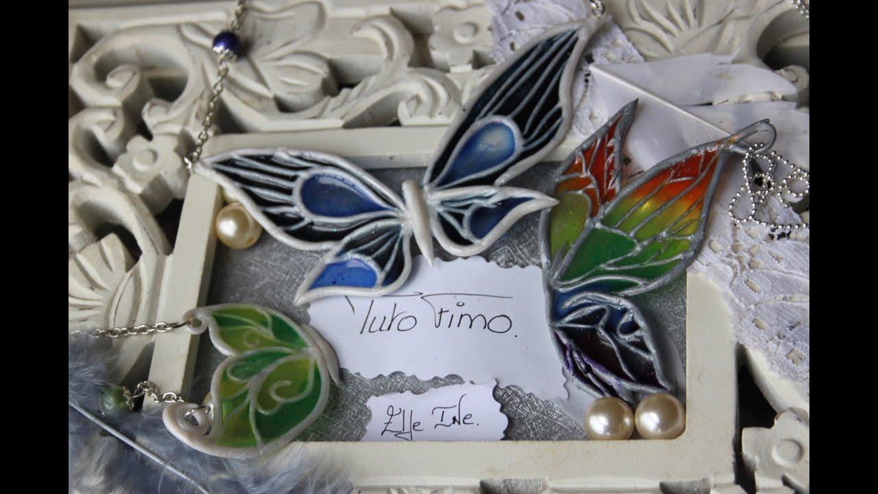 Tuto fimo r sine papillon polymer clay for Tutorial papillon