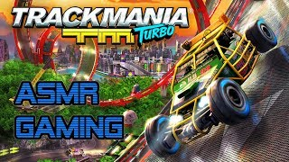 ASMR Gaming | Playing Some Relaxing TrackMania Turbo ★Controller Sounds + Soft Spoken Whispering☆