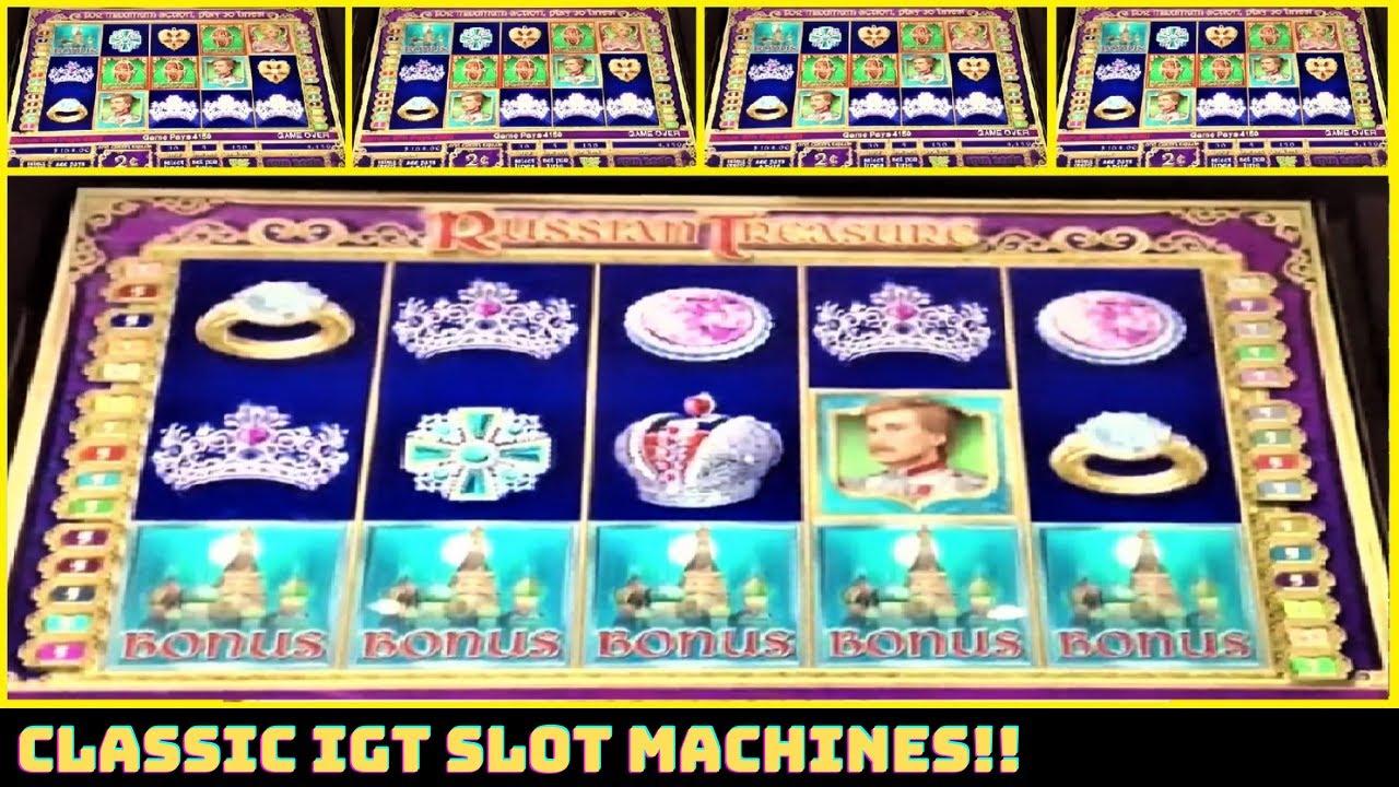 🌟 IGT Slot Machines! Russian Treasure & Wild Wind Ups!