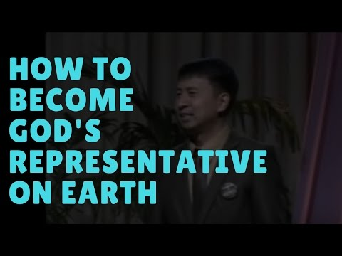 How to Become God's Representative on Earth by Bo Sanchez