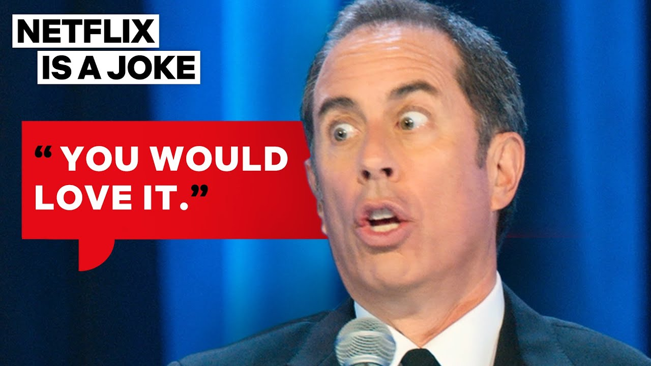 Jerry Seinfeld Thinks Everything S Great And Also Sucks Netflix Is A Joke Youtube