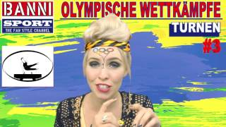 Turnen Gymnastics Gimnasia #3 - Olympic Wettkampf - Original Banni Sport Fan Style & Make-up