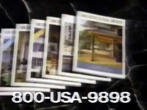 Architectural Digest commercial - 1992