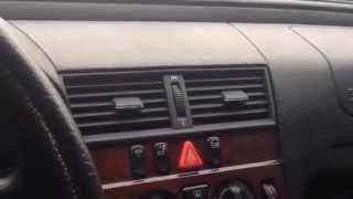 Аварийное открывание багажника Mercedes w202