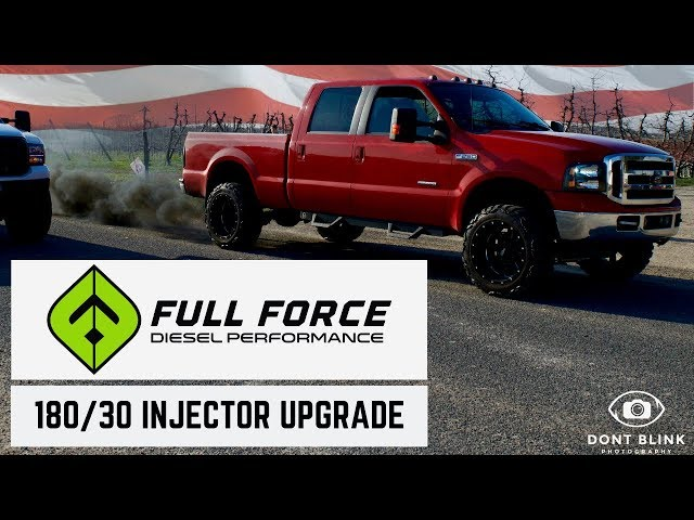 7.3 Powerstroke: Before and After FULL FORCE INJECTOR UPGRADE
