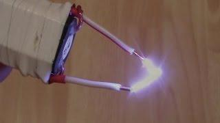 Как сделать электрошокер за 10 минут.