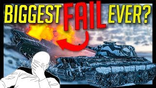 ► The Biggest FAIL Ever or Simply SAD? - World of Tanks E-50M Gameplay