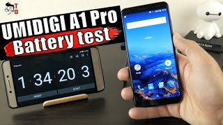 UMIDIGI A1 Pro - Battery Drain Test and Charging Time