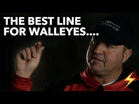 BEST Walleye Ice Fishing Line??? — Ice Pros Q&A ⚡