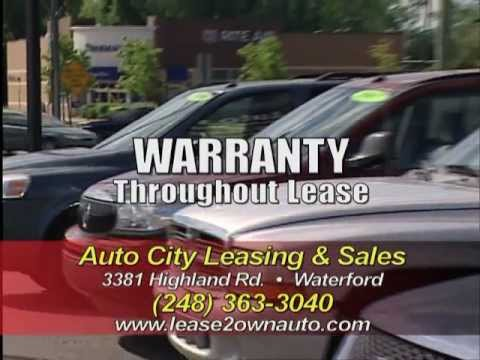 Rebuild your credit through our Lease to Own program- Auto City Leasing