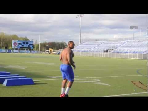 Fullback Jeff logan Training Part II !!!!!