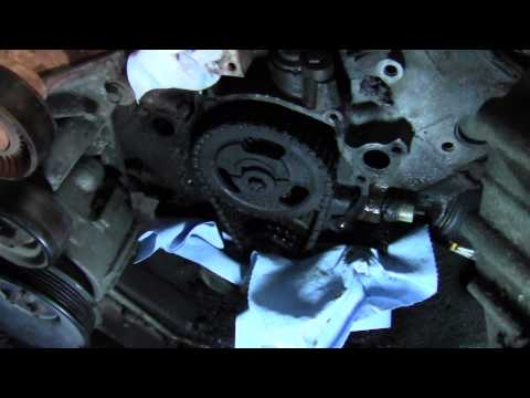 F150 302 Timing Cover Bolts Removed!! Timing Chain and Gears