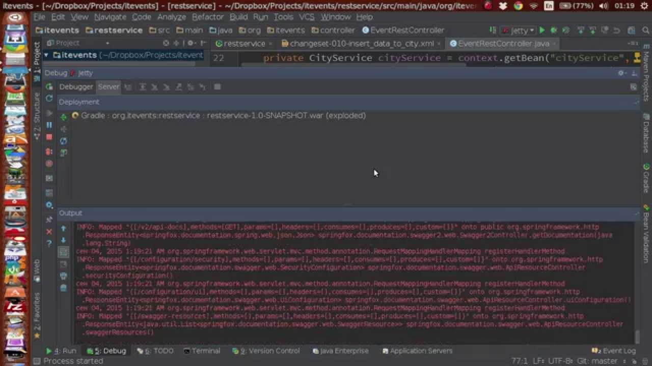 Debug Java web-project with Jetty and IntelliJ Idea