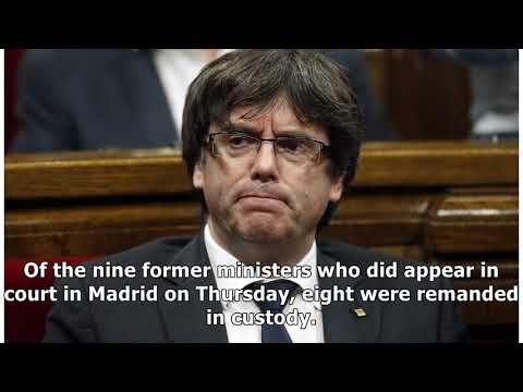 European arrest warrant issued for ex-catalan leader carles puigdemont