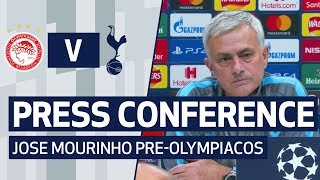 PRESS CONFERENCE | JOSE MOURINHO PREVIEWS OLYMPIACOS