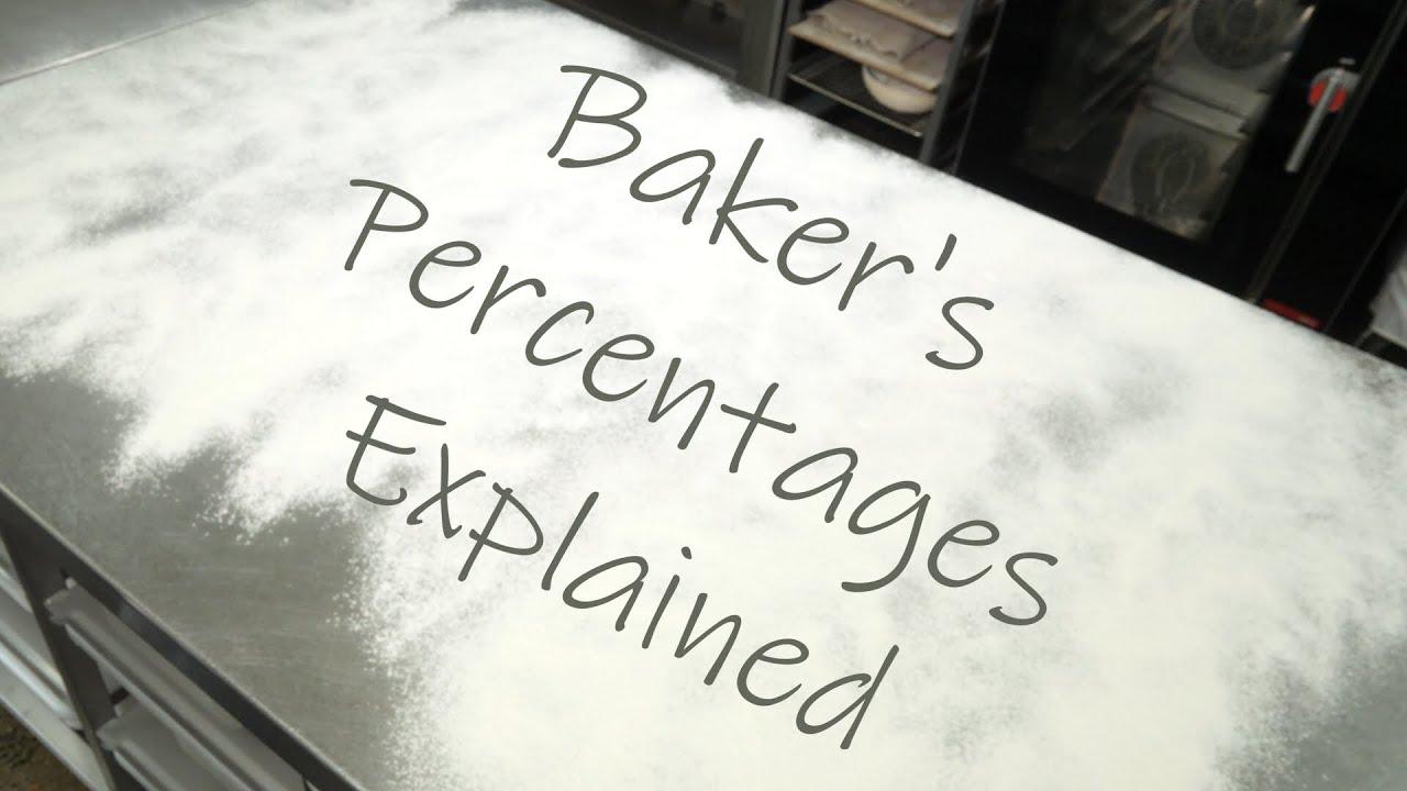 Baker S Percentages Explained Youtube