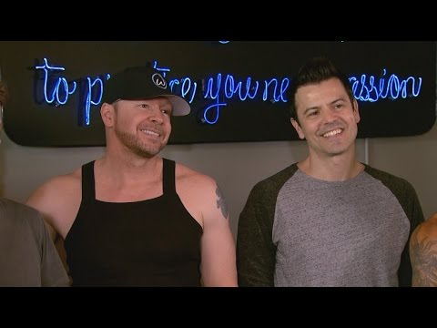 EXCLUSIVE: New Kids on the Block Talk Defying 'Dad Bods' and Touring in Your 40s