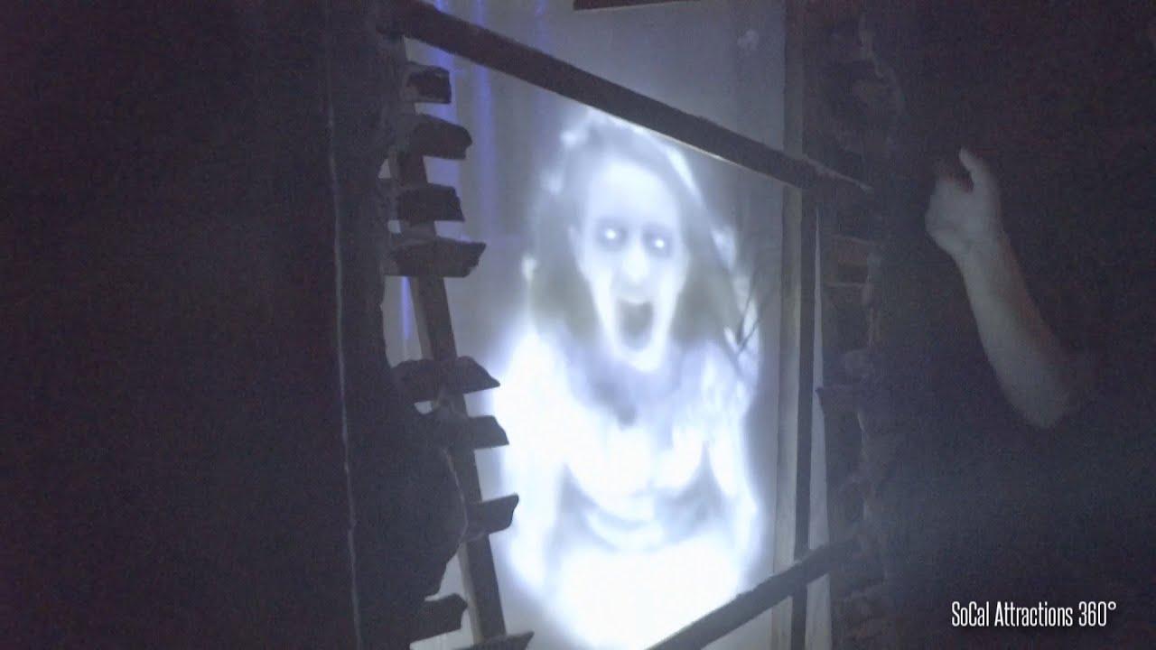 new! scary paranormal haunted hospital maze | knott's scary farm