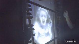 NEW! Scary Paranormal Haunted Hospital Maze | Knott's Scary Farm 2015