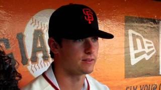 Andrew Susac talks about Buster Posey