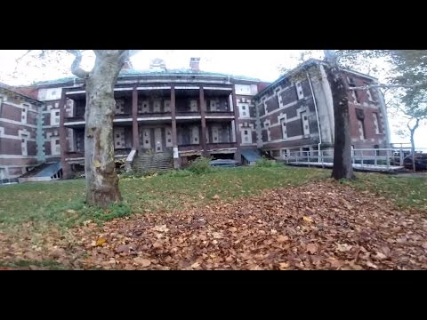 Abandoned Ellis Island Hospital Southside Immigrant Hospital Private Tour The Statue of Liberty
