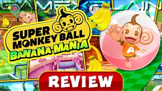 Super Monkey Ball: Banana Mania - REVIEW (Switch & PS5) (Video Game Video Review)