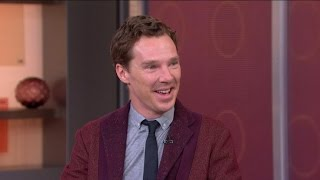 "Benedict Cumberbatch on His Engagement News, New Film ""Imitation Game"""