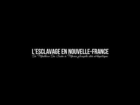Histoire sec.3 - (1609-1759) L'esclavage en Nouvelle-France