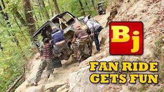 BleepinJeep Fan Ride Gets Rowdy!