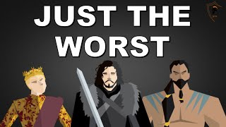 The 10 Absolute Worst Characters EVER In HBO's Game of Thrones