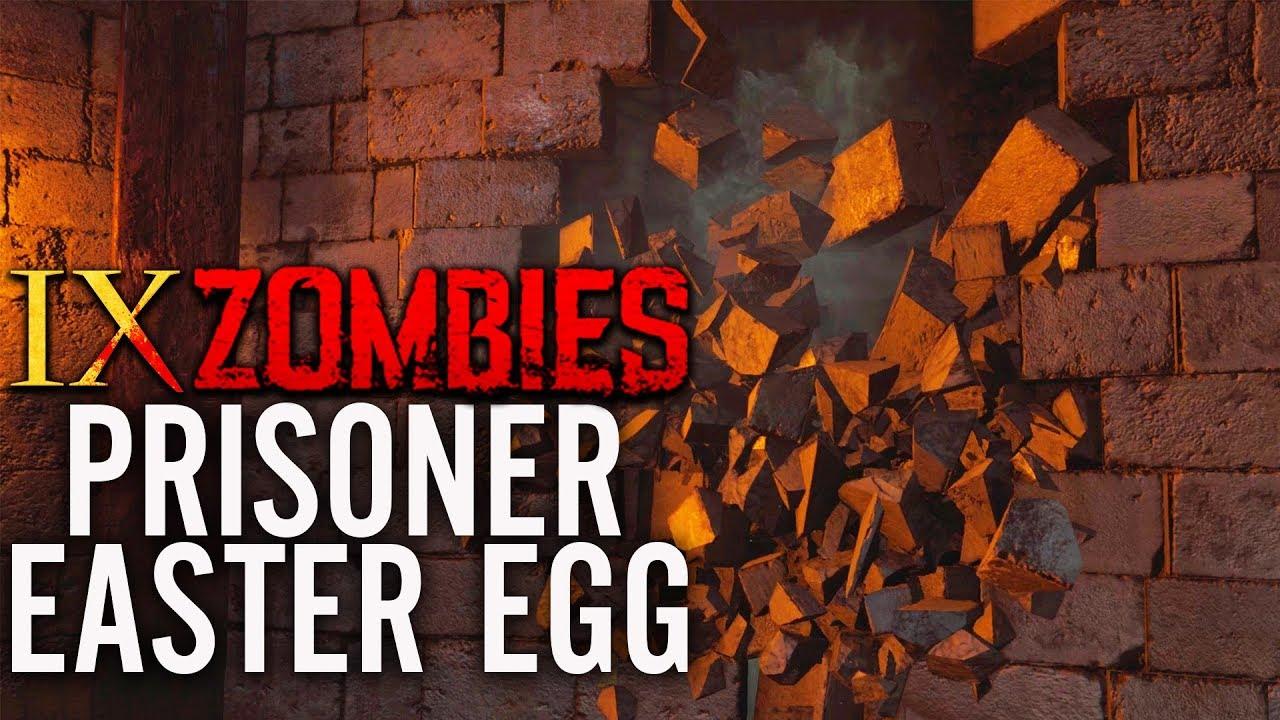 NEW IX EASTER EGG SOLVED: SECRET PRISONER EASTER EGG GUIDE! (Black Ops 4  Zombies IX Easter Egg)