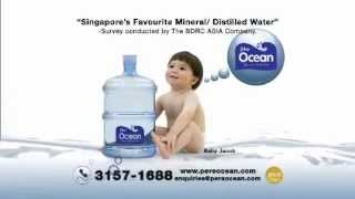 Pere Ocean TV Commercial with Baby Jacob on Mediacorp