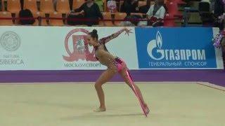 Мария Павлова, обруч. Grand Prix, Moscow, 2016. Qualification. Москва, Гран При, Квалификация.