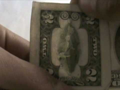 OWL on 2-dollar bill