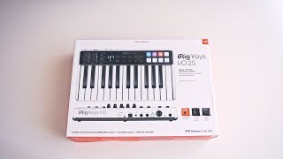 iRig Keys I/O 25 - Unboxing