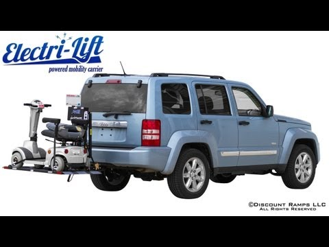 EML-350 Electri-Lift - Powered Mobility Carrier
