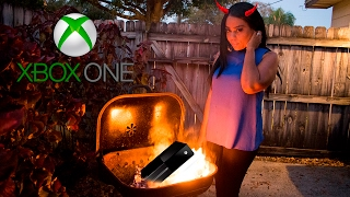 ANGRY GIRLFRIEND DESTROYS XBOX ONE (REVENGE PRANK)