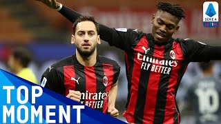 Hakan Calhanoglu's early goal for Milan! | Milan 2-0 Benevento | Top Moment | Serie A TIM