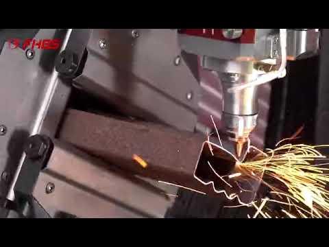 Máquinas INDUSTRIAIS  Baisheng LASER  Fibra para Corte de TUBOS REDONDO E QUADRADO, PERFIS U L H