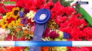 Jesús Orlando Atehortúa, ganador absoluto del Desfile de Silleteros