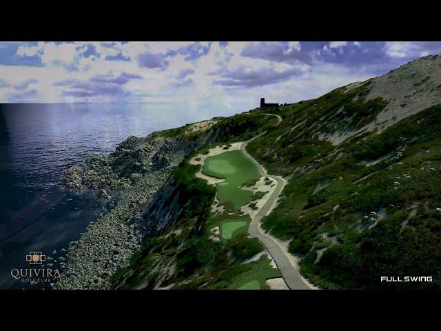 Quivira Los Cabos Golf Club Full Swing GOLF Simulator Software Flyover