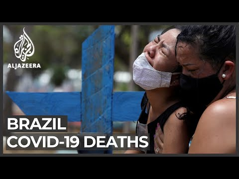 'Catastrophe' as Brazil hits record-high daily COVID deaths