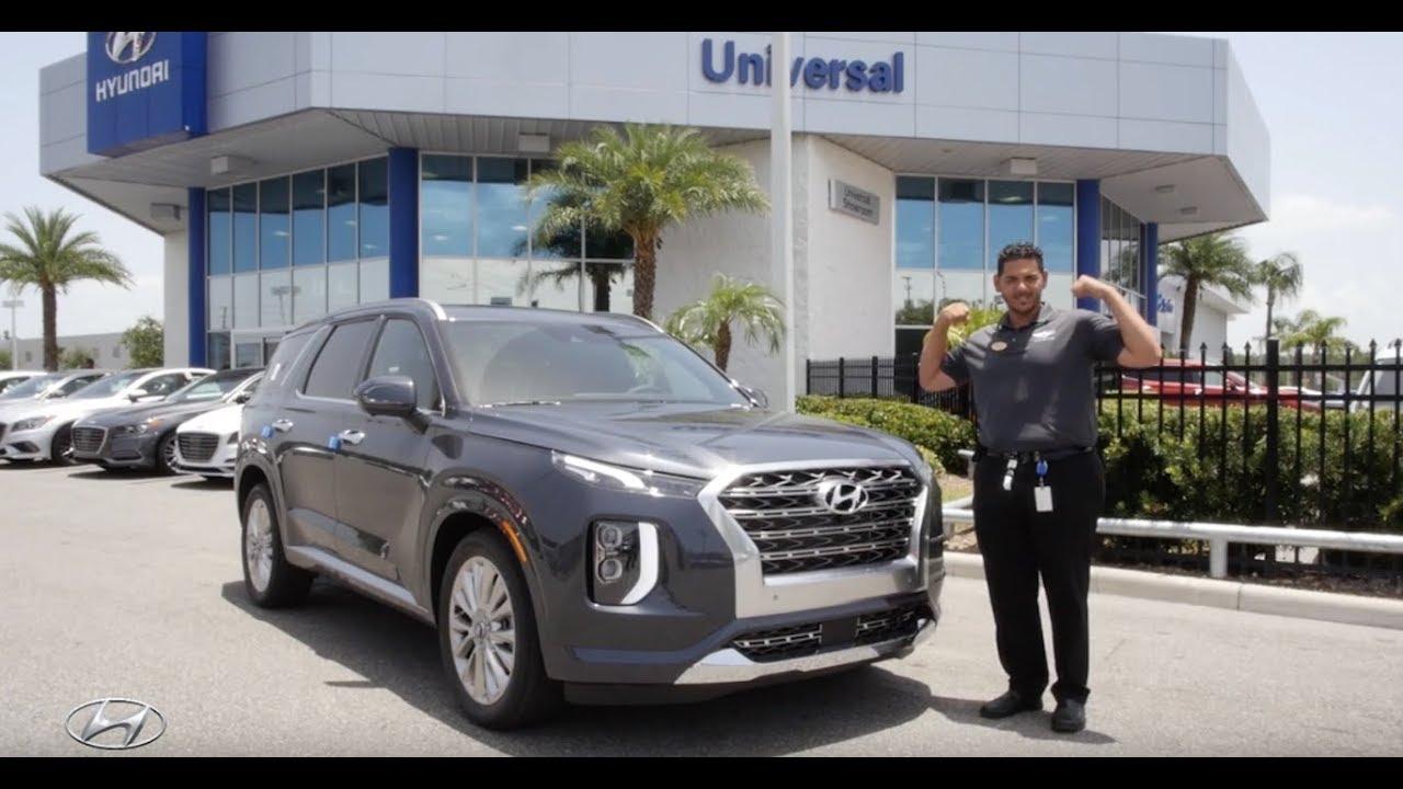 The All New 2020 Hyundai Palisade Limited